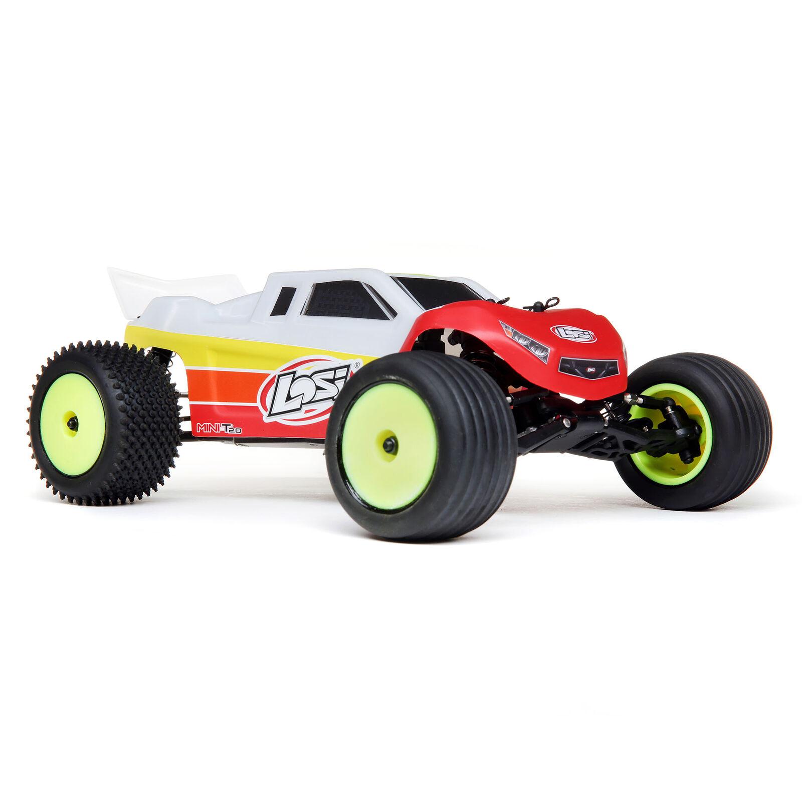1/18 Mini-T 2.0 2WD Stadium Truck Brushless RTR, Red