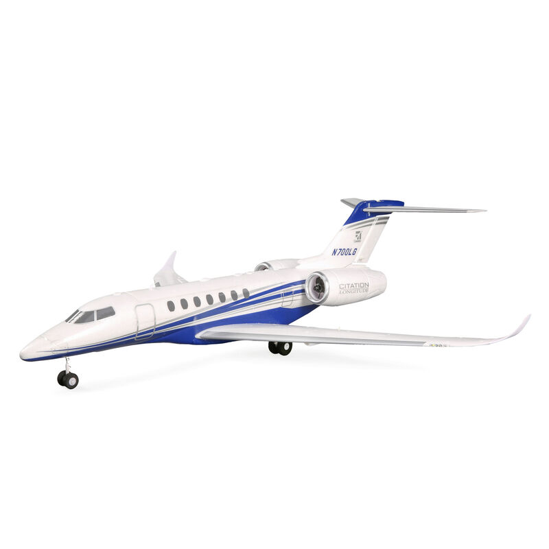 UMX Citation Longitude Twin 30mm EDF BNF Basic with AS3X and SAFE Select, 638mm