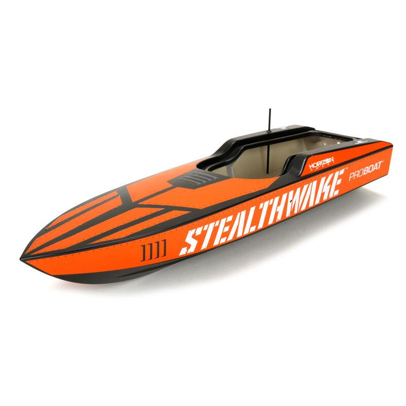 Proboat Stealthwake 23: Rumpf und Dekorbogen