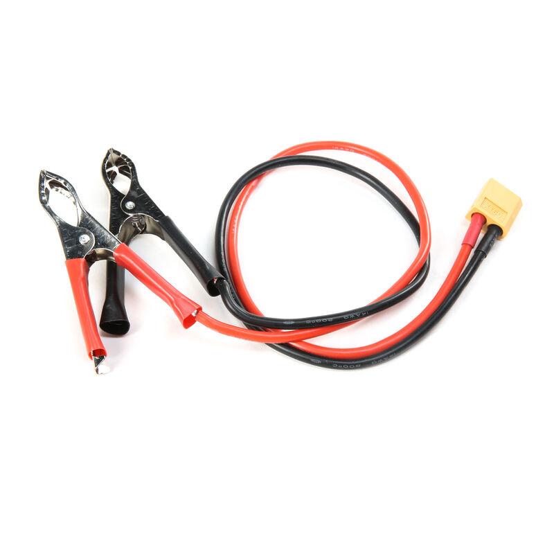 DC Power Cord: Alligator / XT60 Male Device