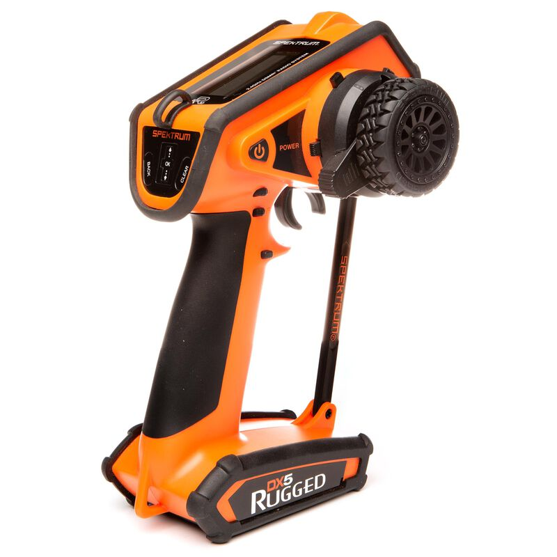 DX5 Rugged DSMR TX Only Intl, Orange