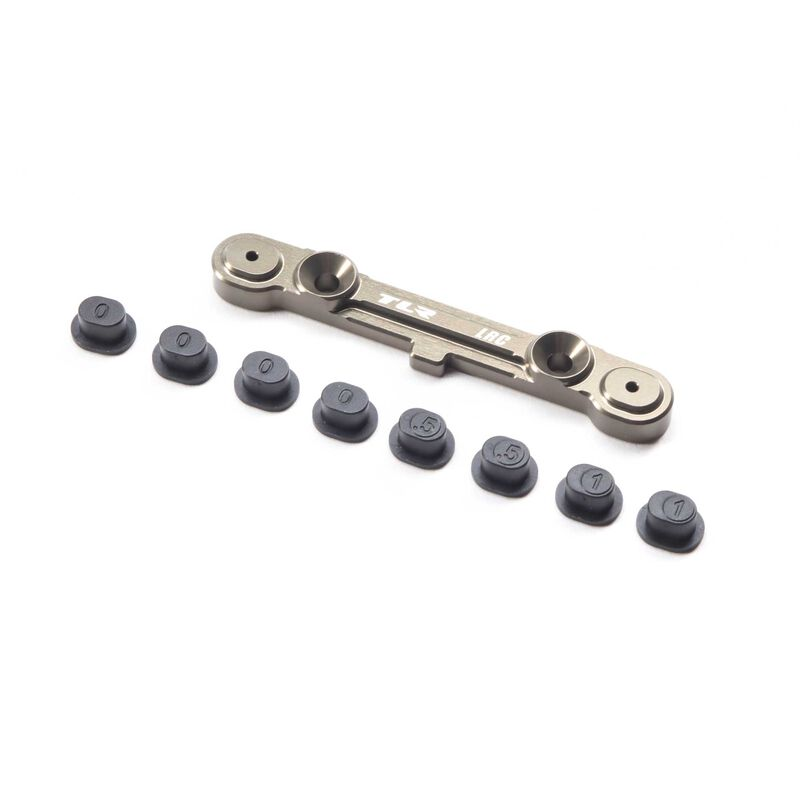 Adjustable Rear LRC Hinge Pin Br with Inserts: 8X