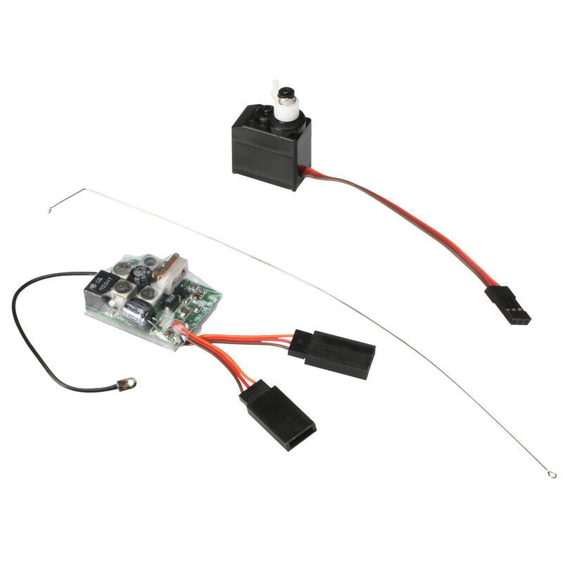 27MHz AM Receiver 3-Wire Servo Combo: Micro