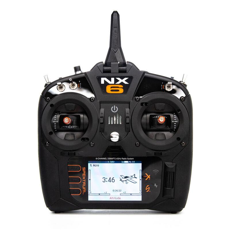 NX6 6-Channel DSMX Transmitter Only, Intl.