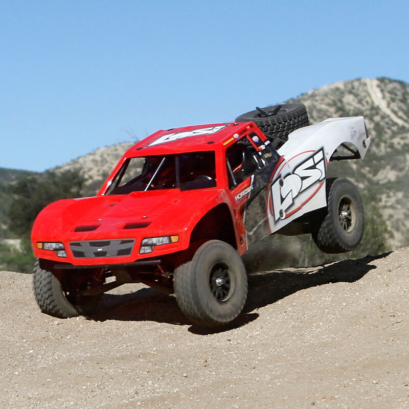 1/10 Baja Rey 4WD Desert Truck Brushless RTR with AVC, Red