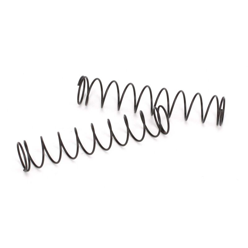 Rear Spring Black, Medium (2): 1/10 2WD Circuit, Ruckus, Torment