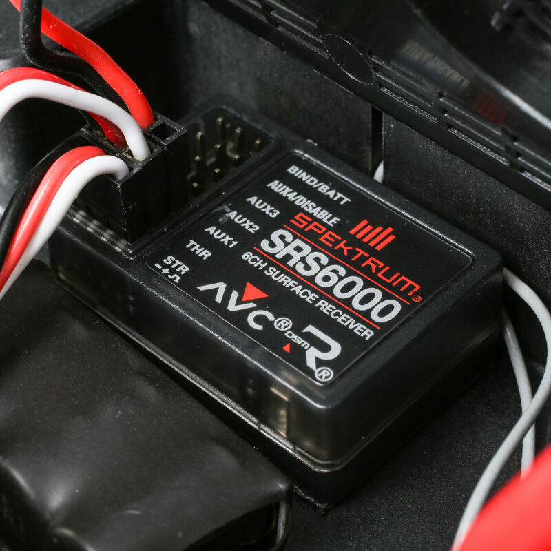 1/6 Super Baja Rey 4WD Desert Truck Brushless RTR with AVC, Black