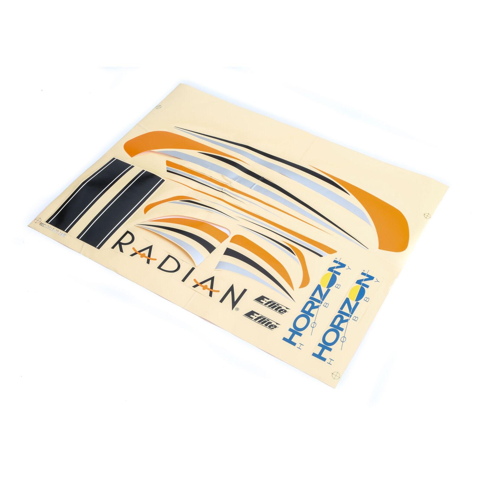 Radian BNF Basic - Planche de décoration