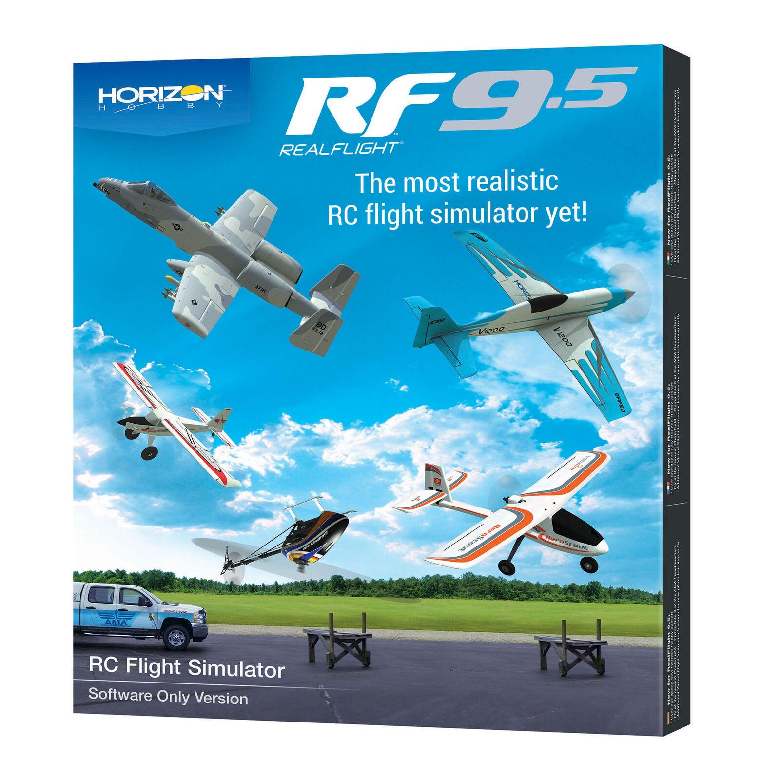 RealFlight 9.5 Flight Simulator, Software Only