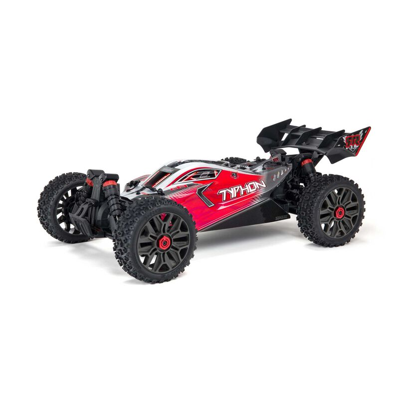1/8 TYPHON 4X4 3S BLX Brushless Buggy RTR, Red