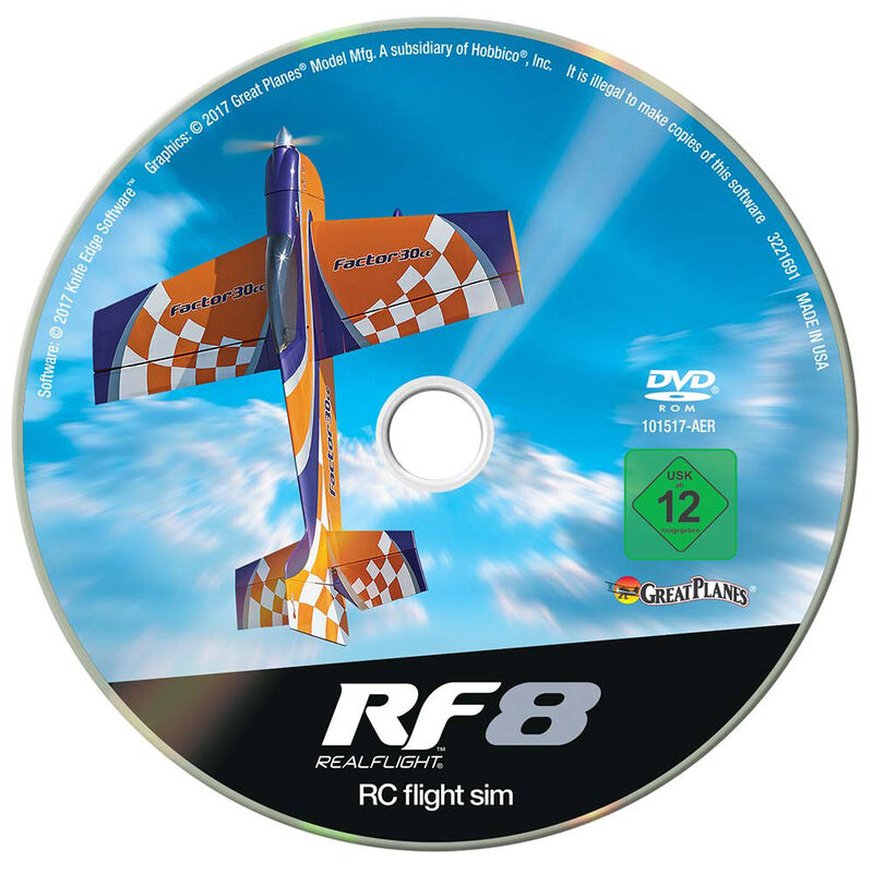 Realflight RF-8 Software Only