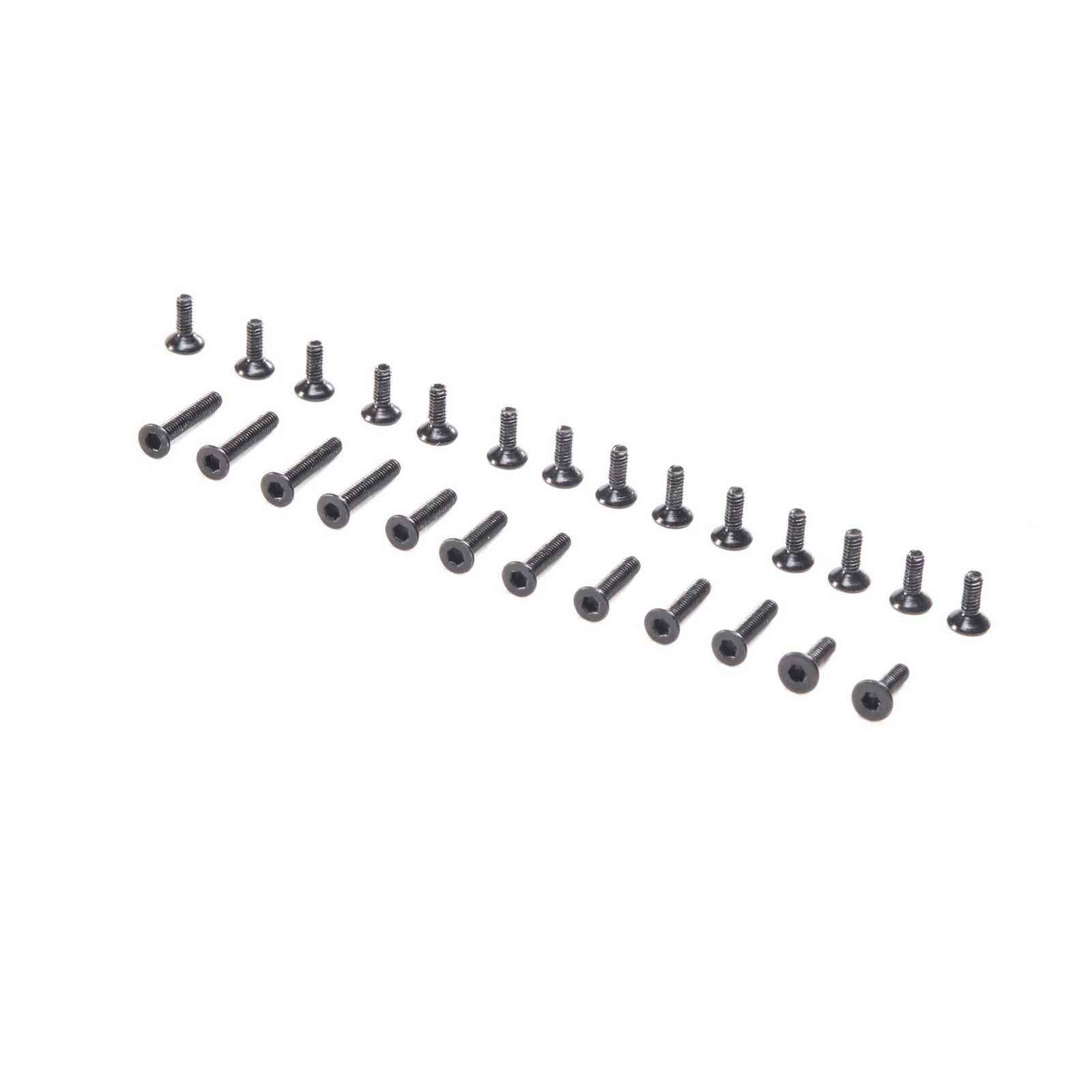 Screw Set Flat Head: Mini-T 2.0