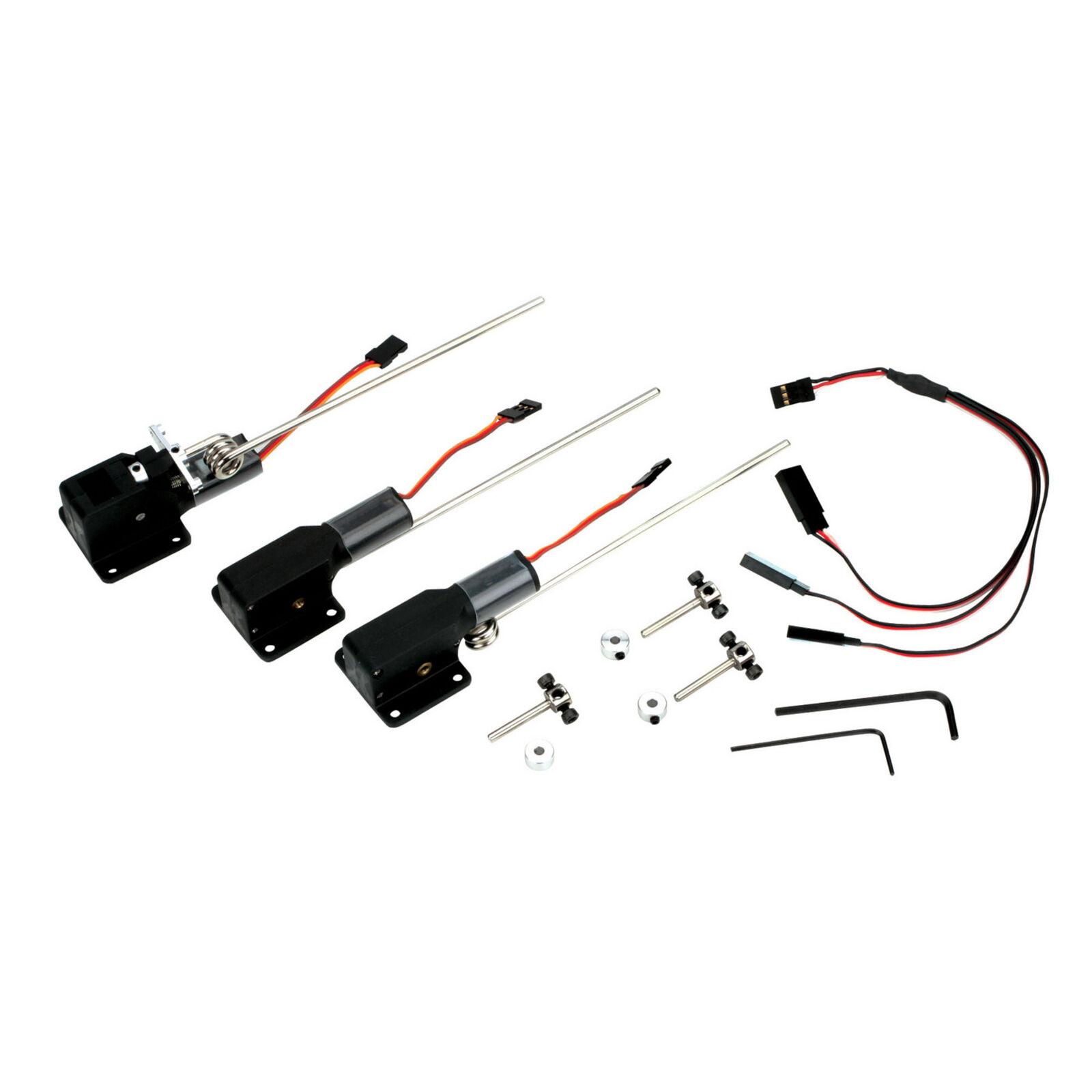 E-flite 15-25 elektr. Dreibeiniges Einziehfahrwerk