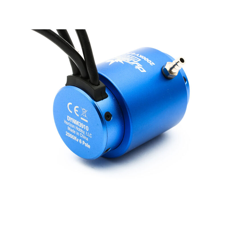 2000Kv 6-Pole Brushless Marine Motor, 36x62mm