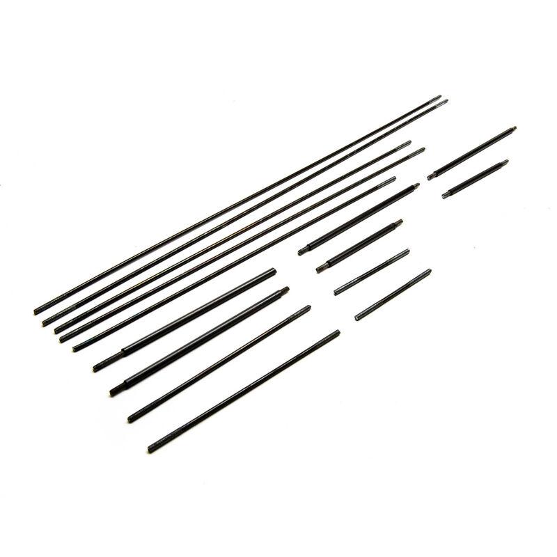 Pushrod Set: Carbon Cub FX-3 100-200cc