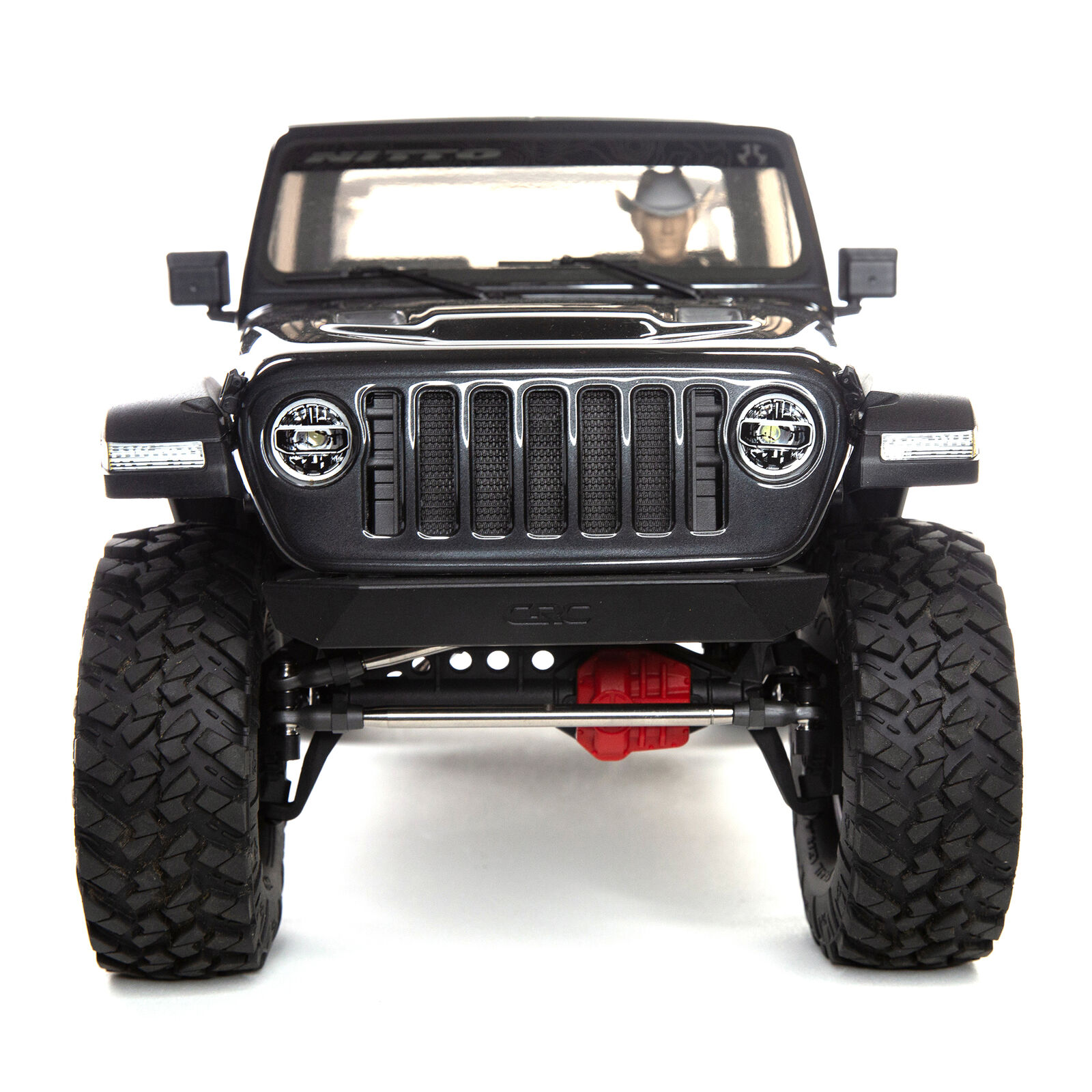 1/10 SCX10 III Jeep JT Gladiator Rock Crawler with Portals RTR, Gray