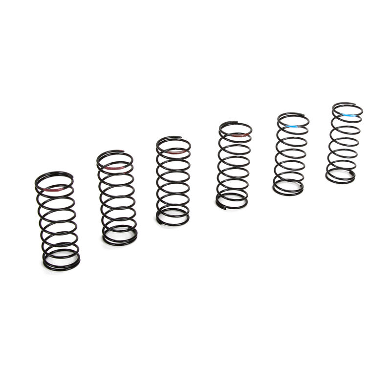 Front Spring Set, Hard (3 pair): 22T/SCT/ 22-4/SCTE with 22 Shock Conversion