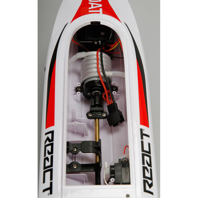 """React 17"""" Self-Righting Brushed Deep-V RTR"""