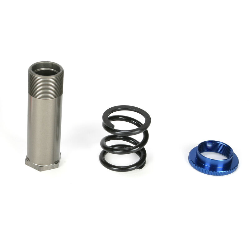 Servo Saver Tube, Spring & Adjuster: 5IVE-T, MINI WRC