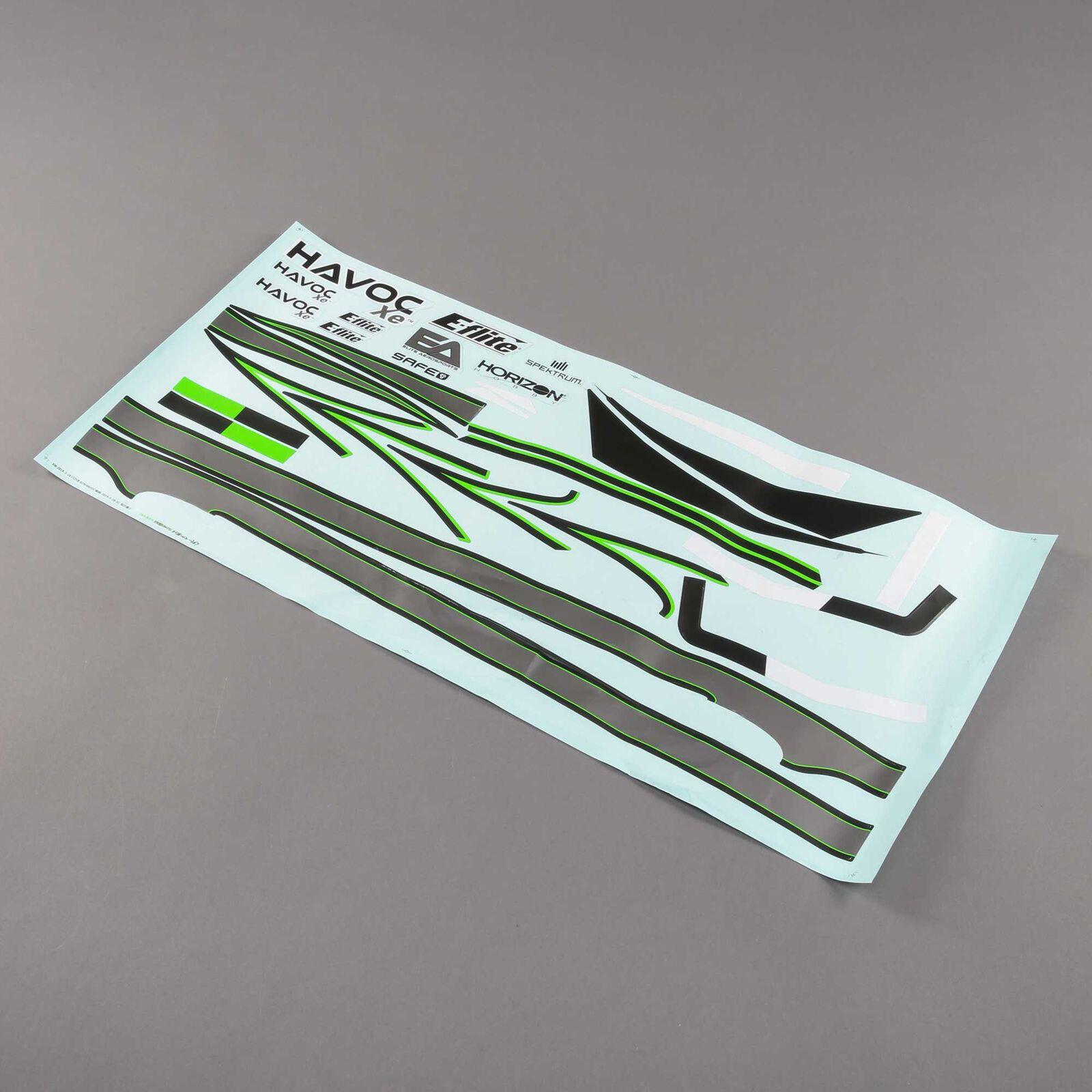 Decal Sheet: HAVOC Xe 80mm EDF Sport Jet
