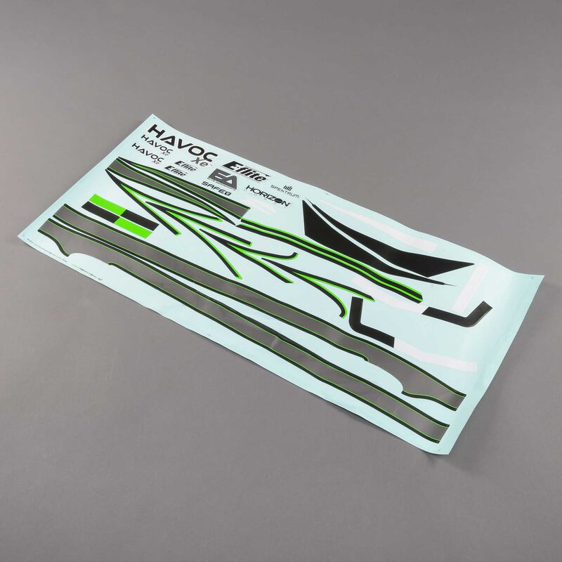 Decal Sheet: HAVOC Xe 80mm EDF Sport Jet