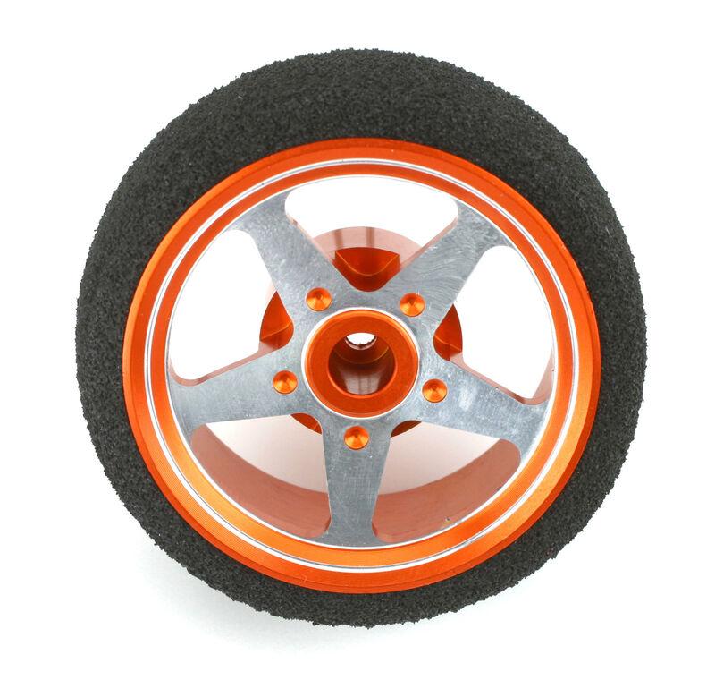 Dynamite Alu Steuerrad 5 Speichen. orange DX3S