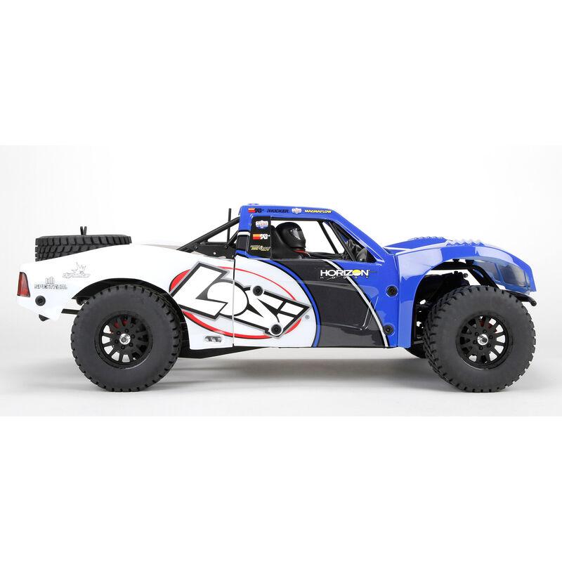 1/10 Baja Rey 4WD Desert Truck Brushless  RTR with AVC, Blue