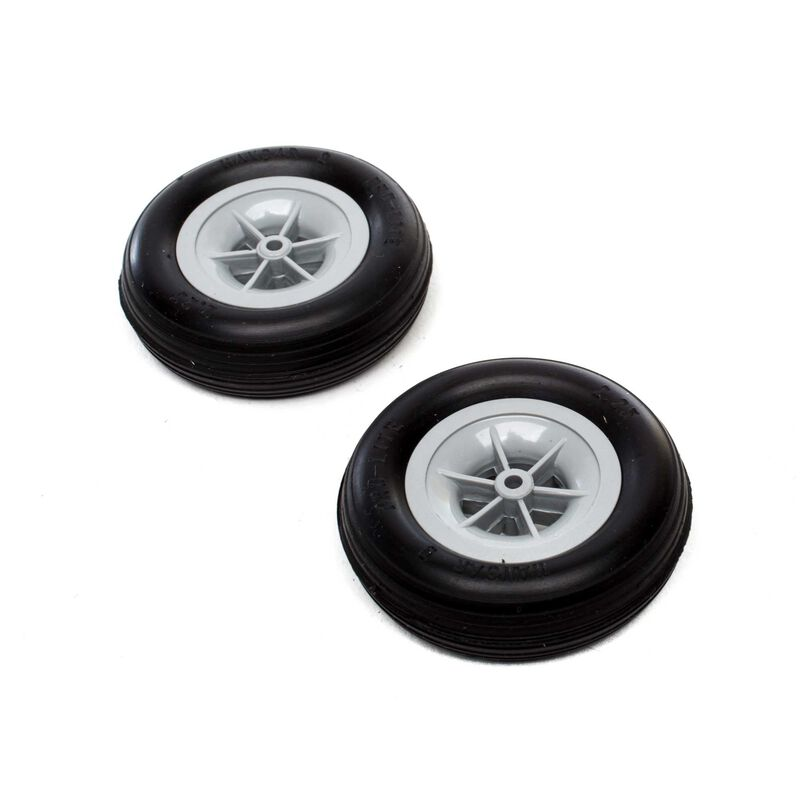 Roues 'Pro-Lite', 2-1/4inch (2)