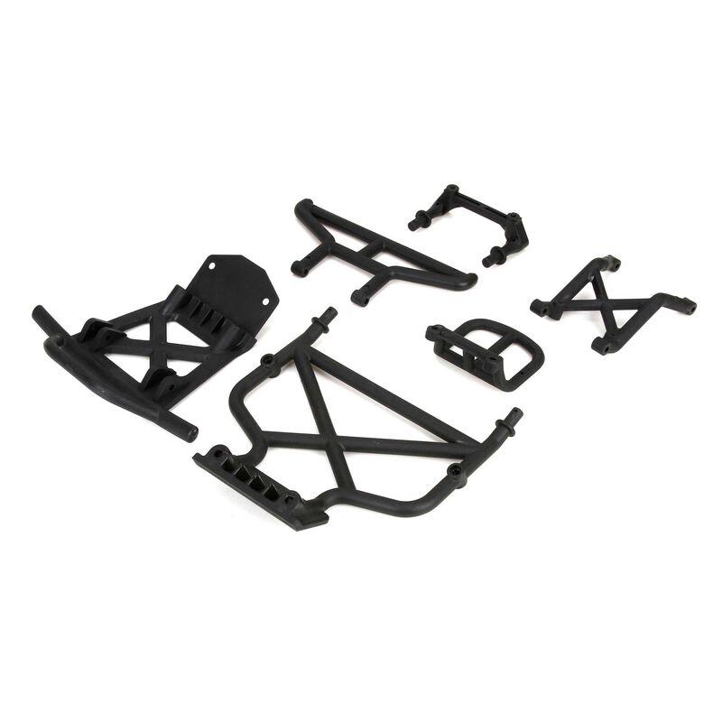 Front/Rear Bumper & Bumper Brace: 1/5 DB XL