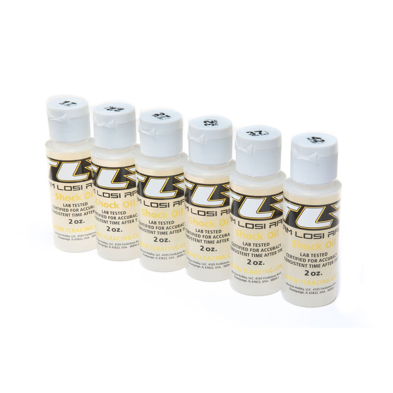 Shock Oil, 6Pk, 17.5, 22.5, 27.5, 32.5, 37.5, 42.5 2oz