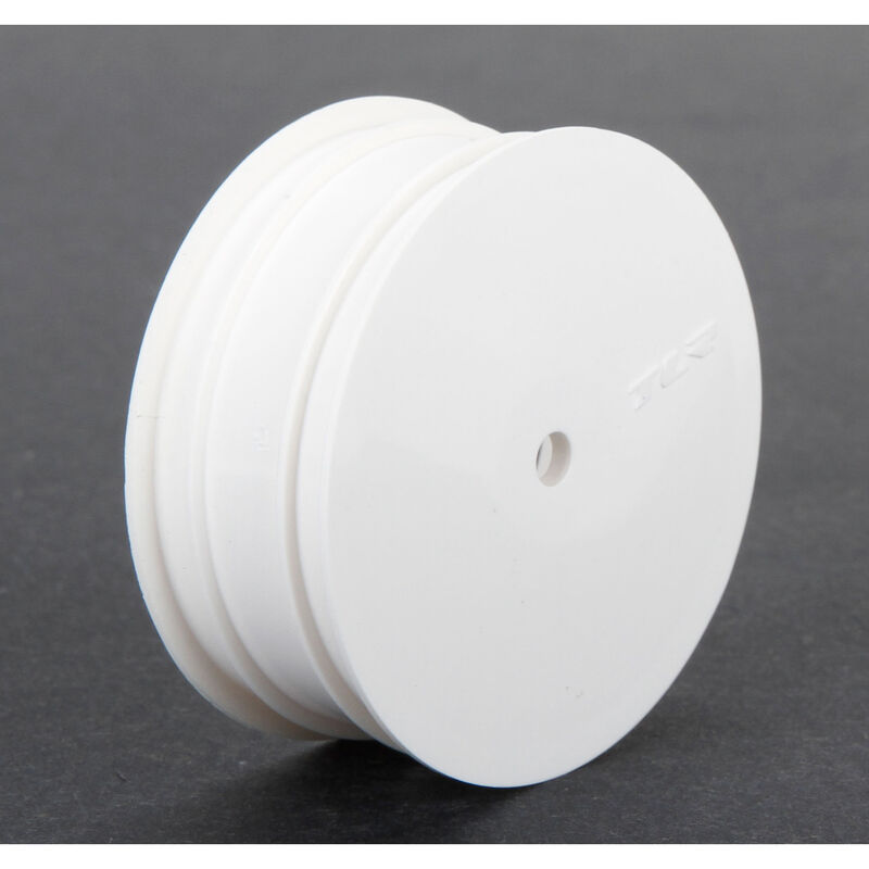 1/10 Front Buggy 2.2 Wheels, 12mm Hex, White (2): 22 3.0