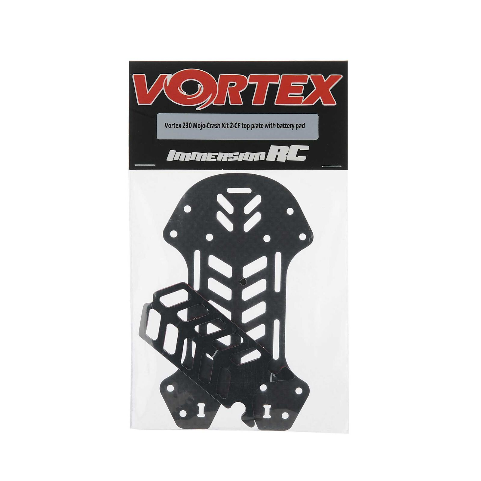 Crash Kit 2 - CF Top Plate Battery Pad: Vortex 230