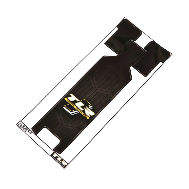 22X-4 Chassis Protective Tape Printed Precut