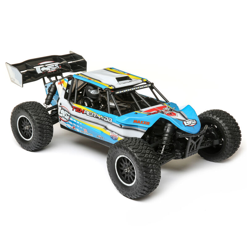 1/10 TENACITY-DB 4WD Desert Buggy RTR with AVC, Blue/Yellow