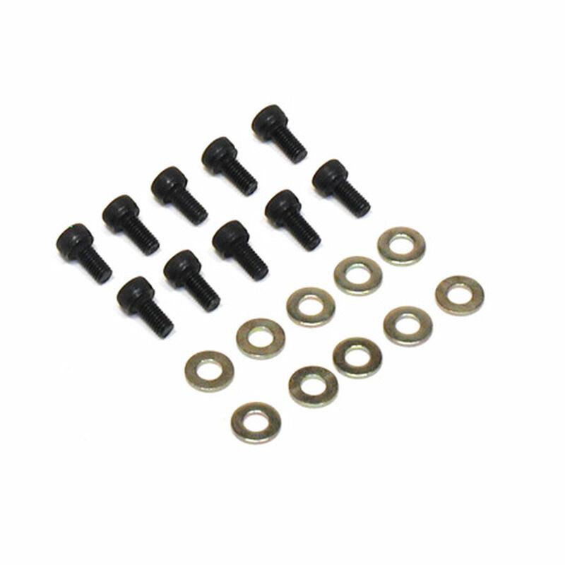 Socket Head Screw, 3mm x 6mm (10)