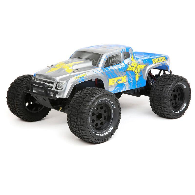 1/10 2WD Ruckus MT BD Lipo  RTR INT