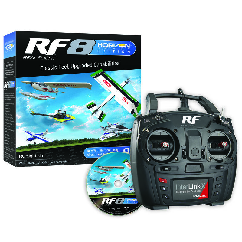 RF8 Horizon Hobby Edition with InterLink-X Controller