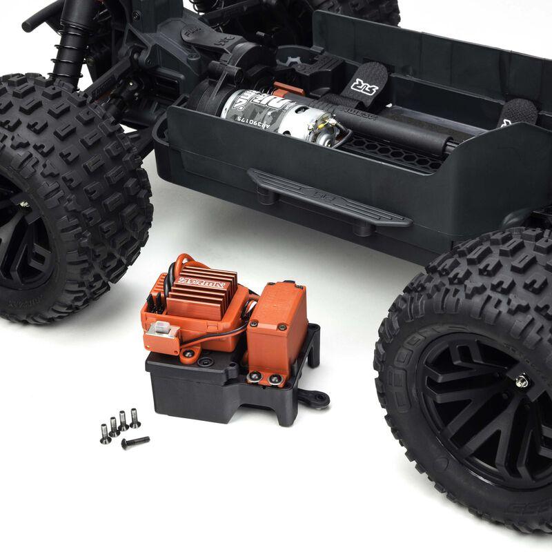 1/10 GRANITE MEGA 550 Brushed 4WD Monster Truck RTR Int, Green/Black