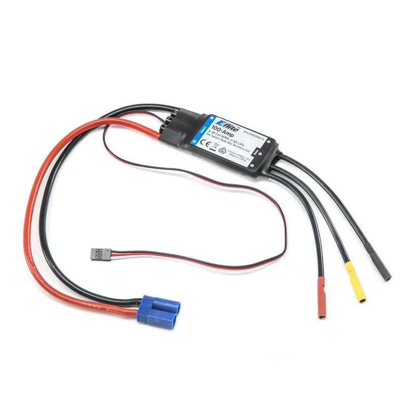 100-Amp Pro Switch-Mode BEC Brushless ESC: EC5