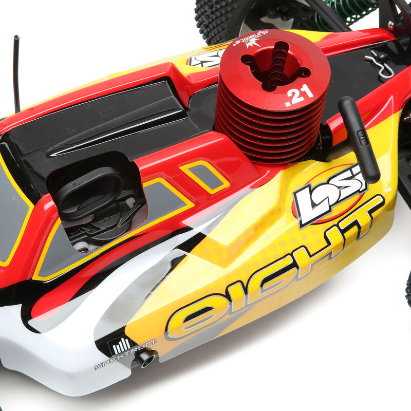 1/8 8IGHT 4WD Buggy Nitro RTR, Red/Yellow