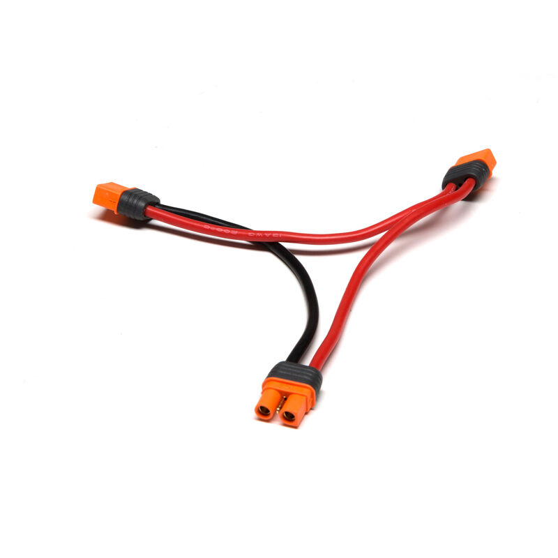 "Series Harness: IC3 Battery with 6"" Wires, 13 AWG"