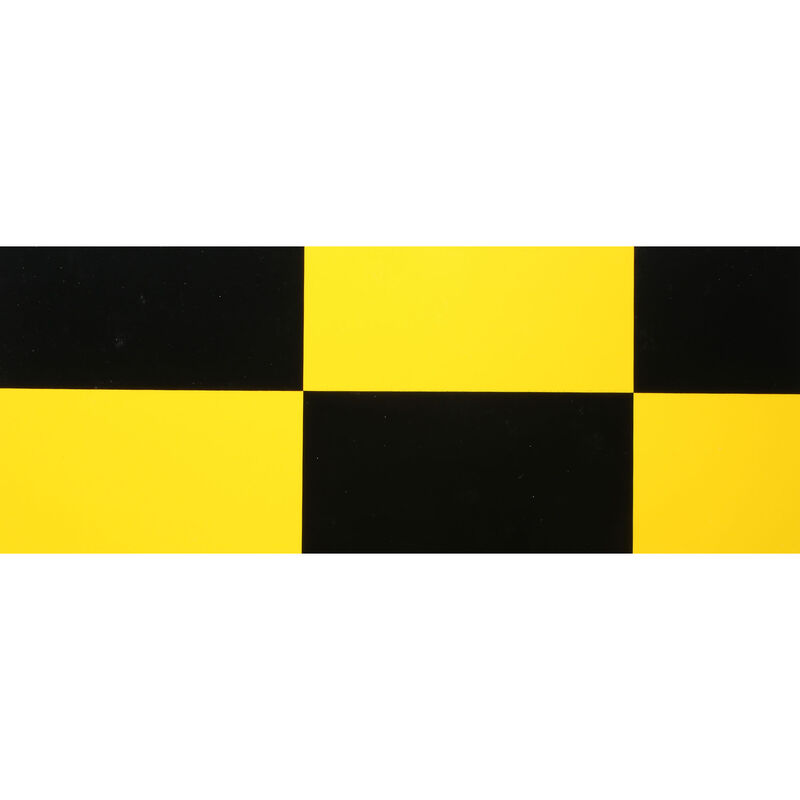"""UltraCote, 1/2"""" Squares, Yellow/Blk"""