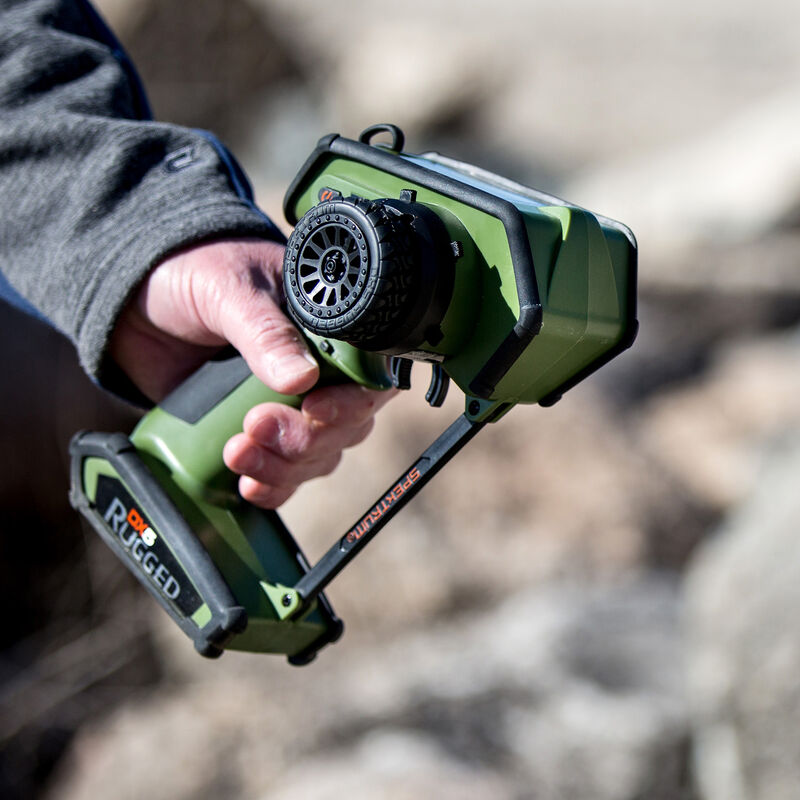 DX5 Rugged DSMR TX Only International, Green
