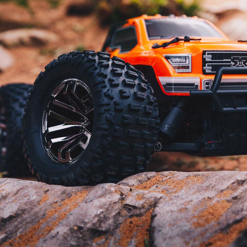 1/10 GRANITE 3S BLX 4WD Brushless Monster Truck RTR, Orange/Black