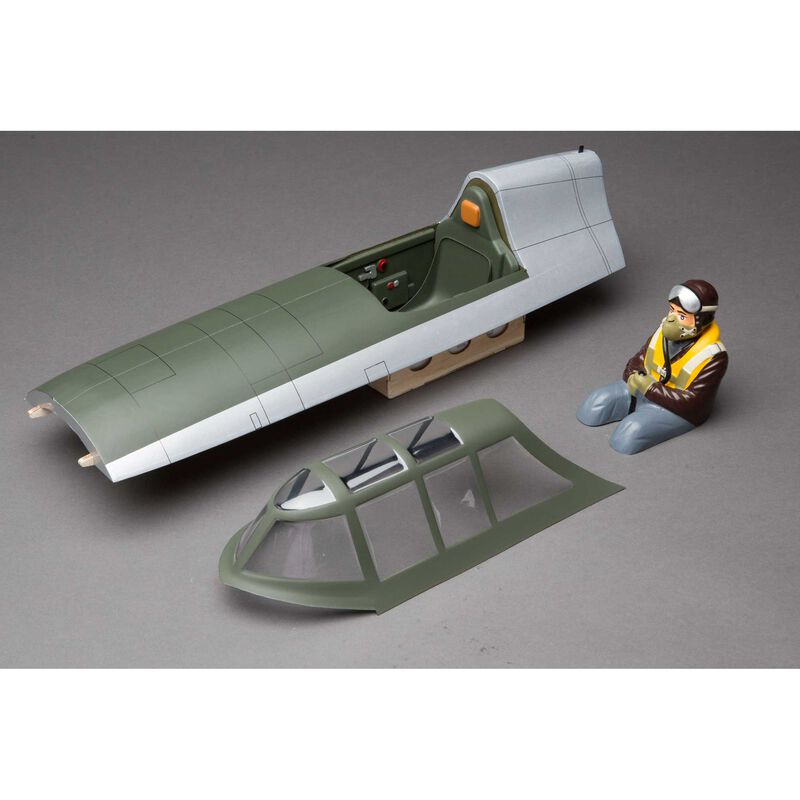 Fuselage Top Hatch: P-47D Thunderbolt 20cc