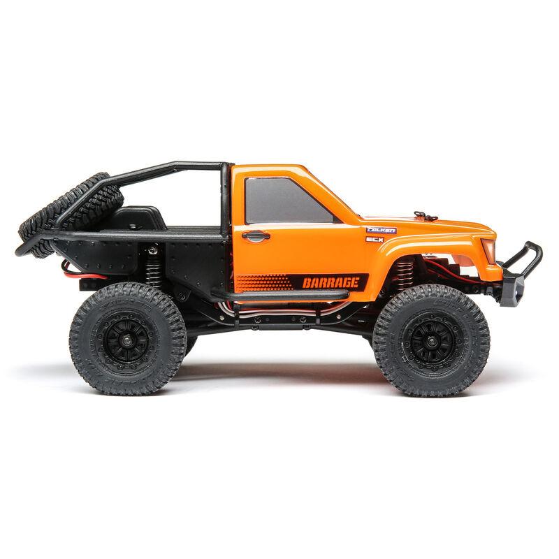 1/24 Barrage 4WD Scaler Rock  Crawler RTR, Orange
