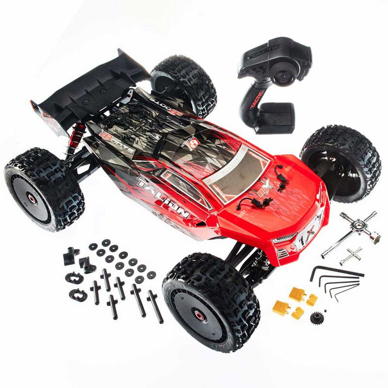 1/8 TALION 6S BLX 4WD Brushless Truggy RTR, Red Black