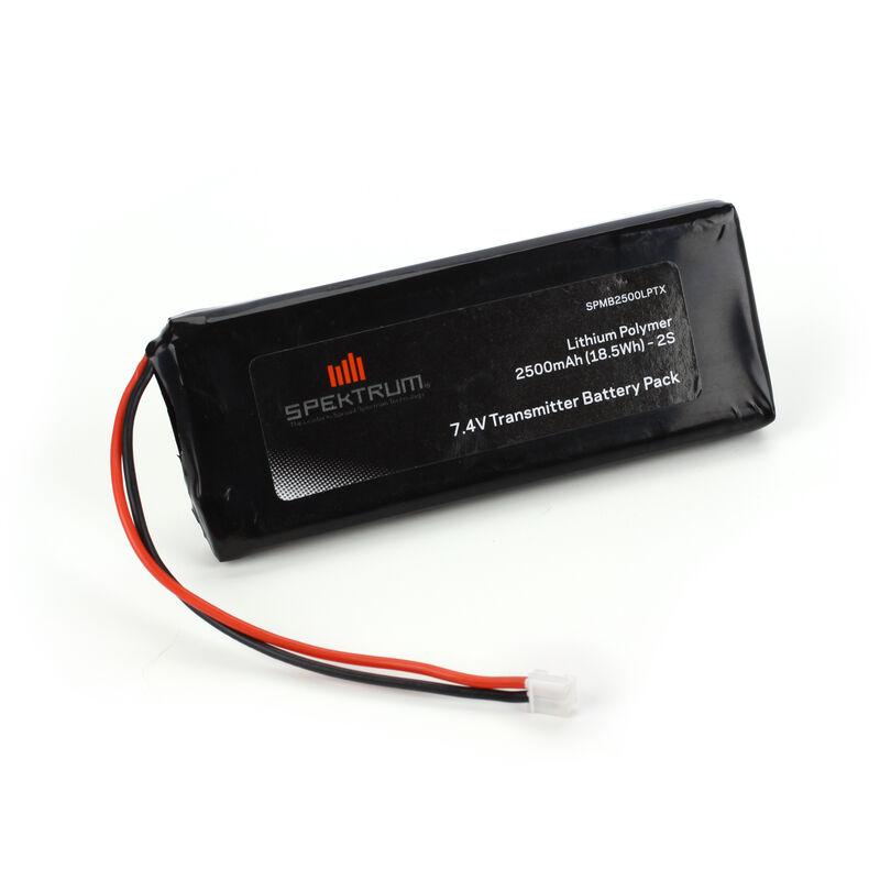 2500mAh LiPo Tx Battery: DX10T