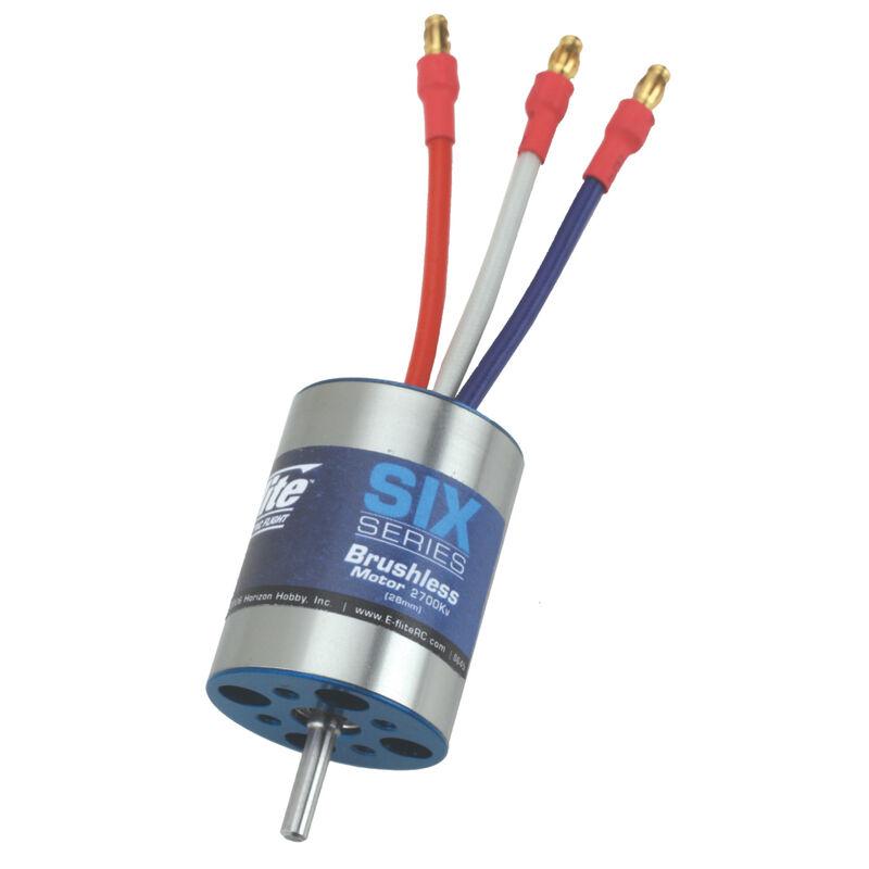 E-flite 2700kV Brushless-Motor 28 mm