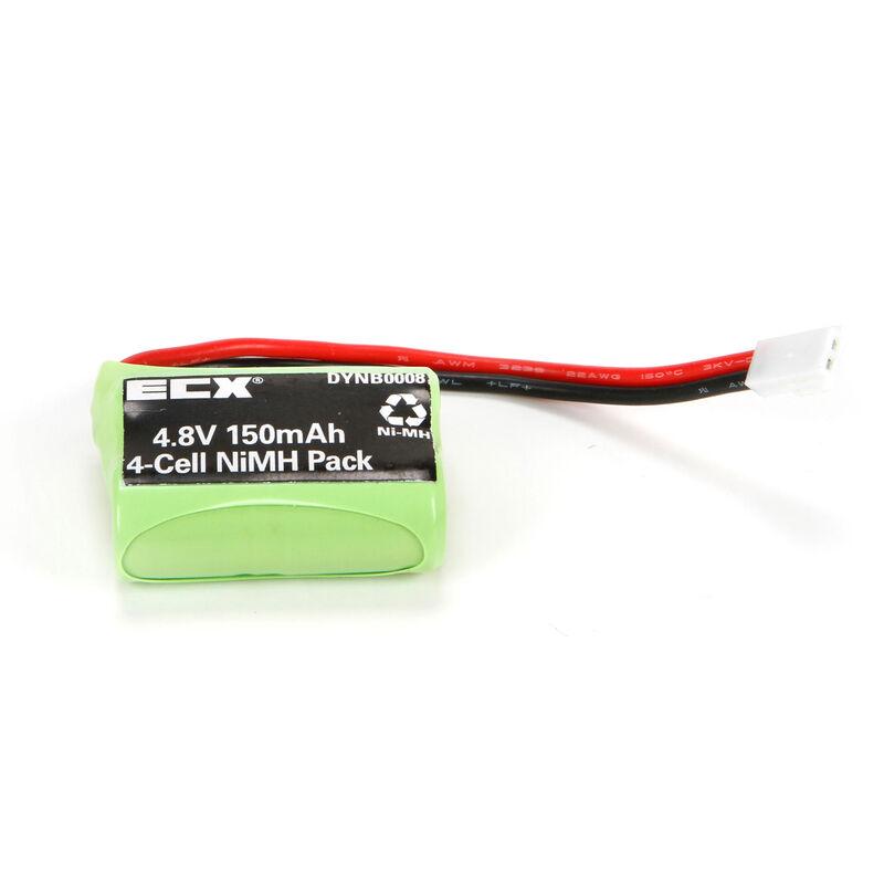 4.8V 150mAh Temper NiMH Battery: Molex